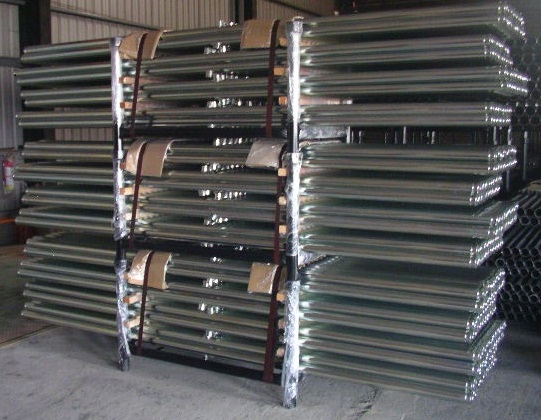 Zinc-Electroplated standardized pipes